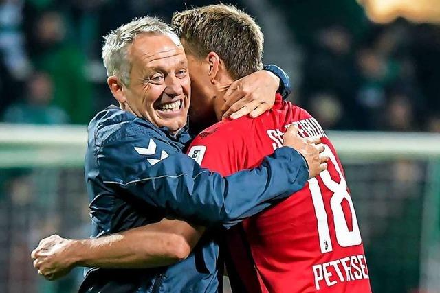 Christian Streich zählt Nils Petersen zu den