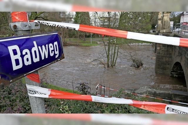 Hochwasser am Neumagen überschreitet zeitweise Zehn-Jahres-Grenze
