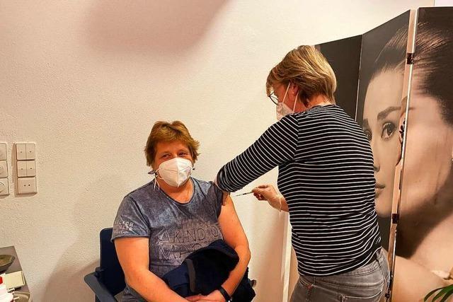 Zweiter Impfdurchgang im Seniorenheim St. Raphael in Neustadt