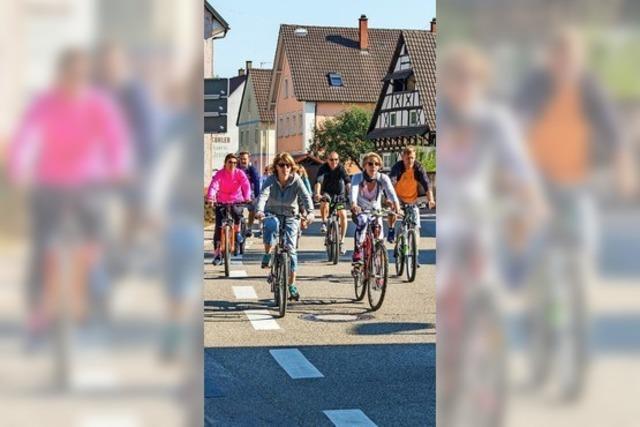 Die Verkehrsschau schlägt ein Radwegekonzept vor