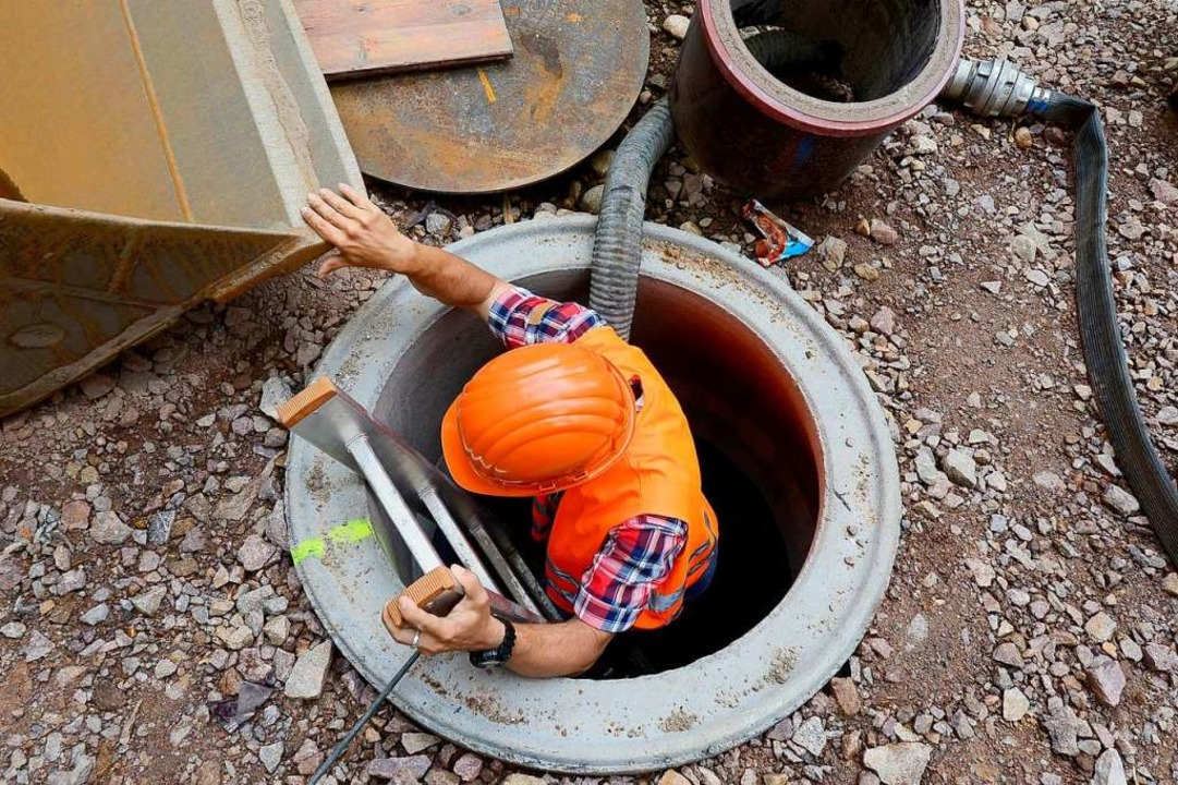 Experten haben die Kanäle der Gemeinde untersucht und schwere Schäden gefunden.   | Foto: Ingo Schneider