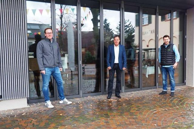 Es gibt neue Pächter für das Café am Rathausplatz in Binzen