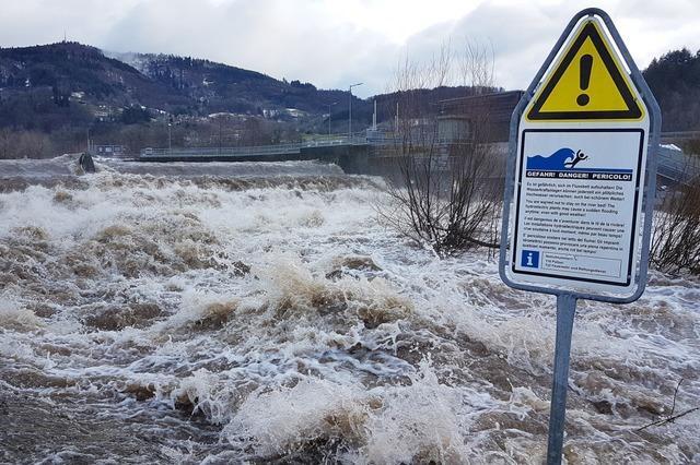 Regen und Tauwetter führen zu Hochwasser
