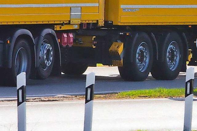 Für Dietenbach-Lkw ist weiter keine Reifenwaschanlage vorgesehen