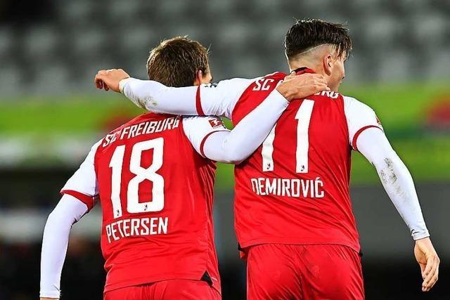 Gegen Wolfsburg bestreitet Nils Petersen sein SC-Jubiläum