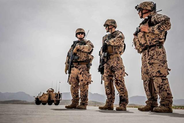 Wenn die Amerikaner aus Afghanistan abziehen, tun es die Deutschen auch