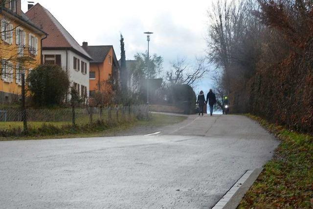 Wolfsgrubenweg in Gundelfingen wird nicht zur Fahrradstraße