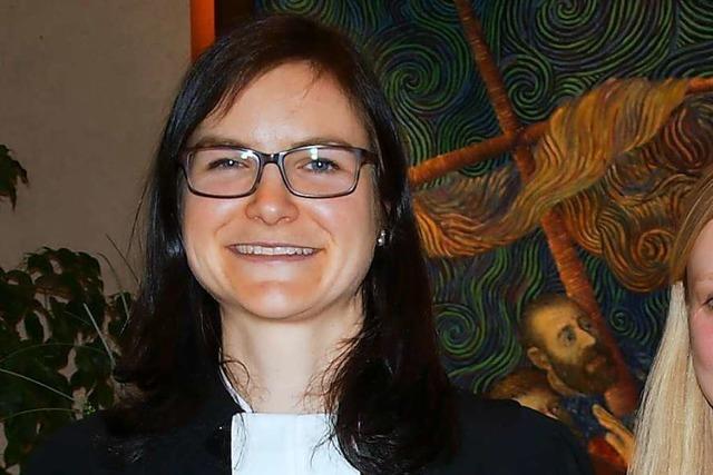 Juliane Rupp wird Pfarrerin der Kirchengemeinden Wittlingen/Schallbach