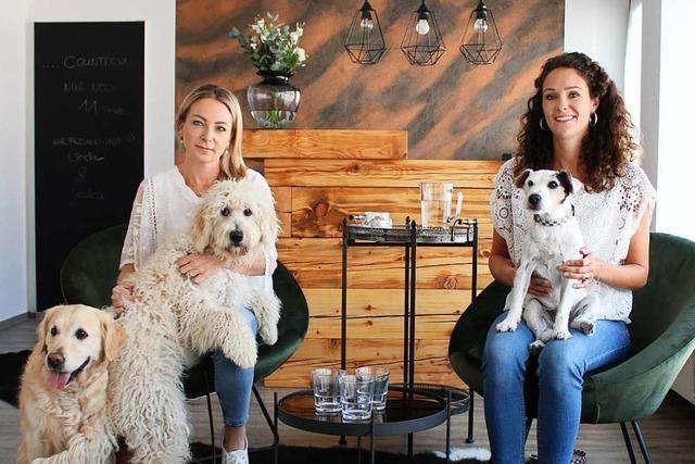 Jessica Werle und Linda Würstlin eröffnen Hundesalon in Bahlingen