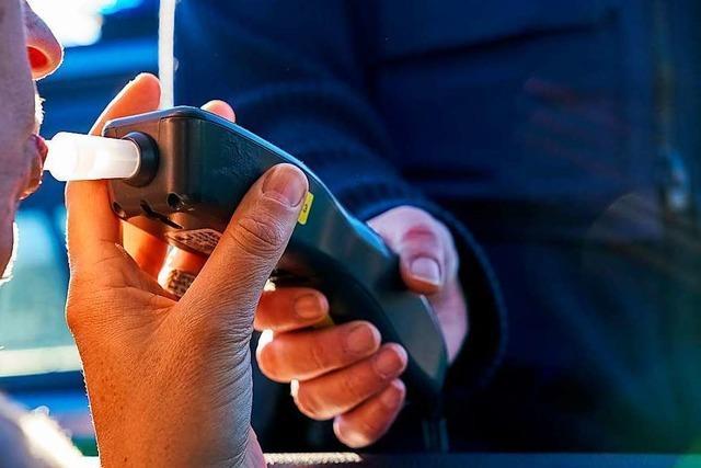 Handy am Steuer, Fahrt im Vollsuff, Drogentest schlägt an