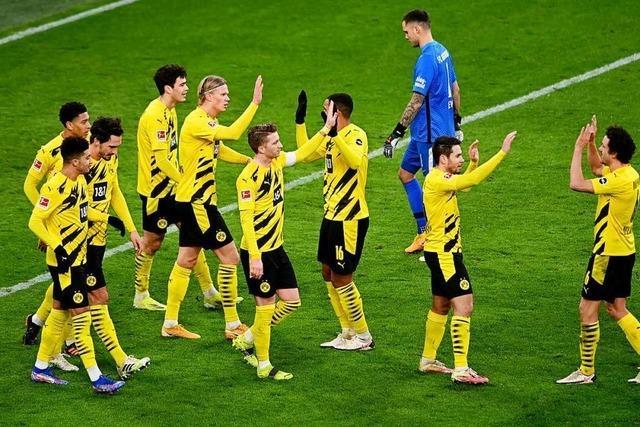 Dortmund und Bayern gewinnen – Schalke rettet einen Punkt