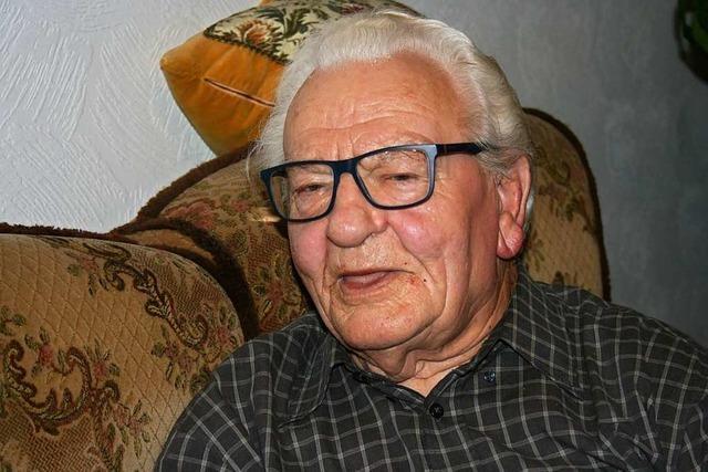 Kurt Kokoschinski aus Mahlberg hat ein abwechslungsreiches Leben hinter sich