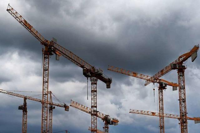 Auftragsbücher des Bauhandwerks sind voll – doch bleibt das so?