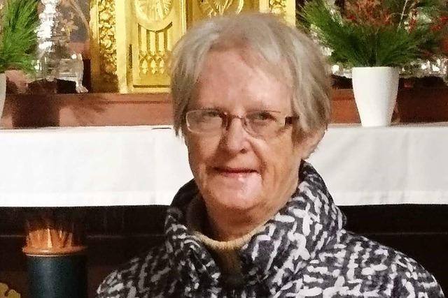 Martha Ritter war 23 Jahre lang Mesnerin in Oberweier