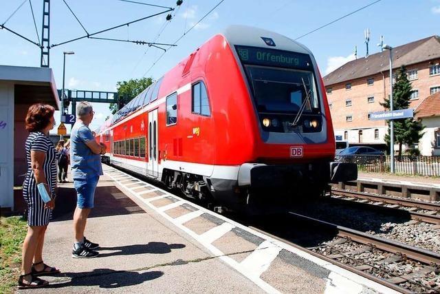 Neuer Zughalt in Friesenheim wird geprüft