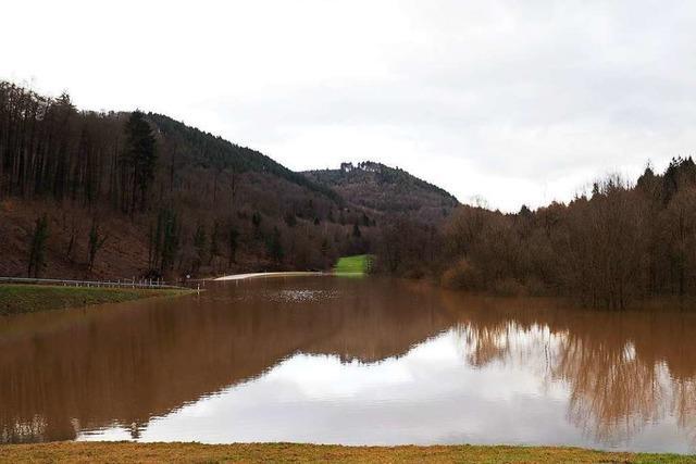 Hochwasser im Bleichtal