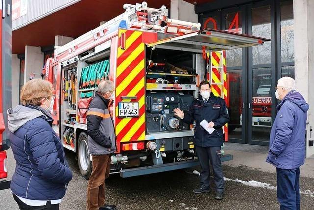 Stadt Weil am Rhein hat den Fuhrpark ihrer Feuerwehr aufgerüstet