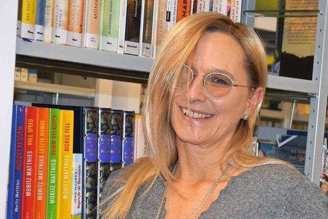 Karin Westerheide leitet jetzt die Mediathek in Gundelfingen