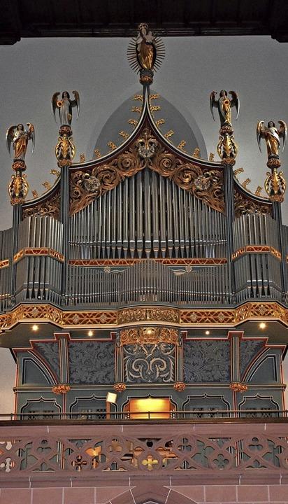 Das Klangbild der Orgel im Neustädter ...eibt Roman Babler als romantisch-warm.  | Foto: Thomas Biniossek