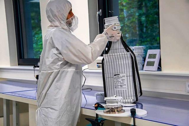 Ein Unternehmen aus Badenweiler sorgt dafür, dass Stoffe gefahrlos umgefüllt werden können