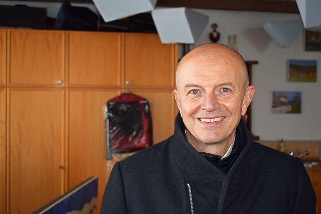 Dietmar Zäpernick bleibt Bürgermeister in Rickenbach