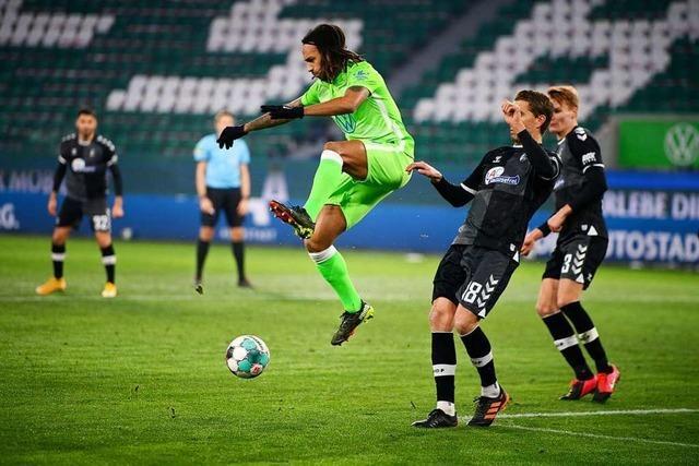Nichts zu holen in Wolfsburg: SC Freiburg verliert deutlich mit 0:3