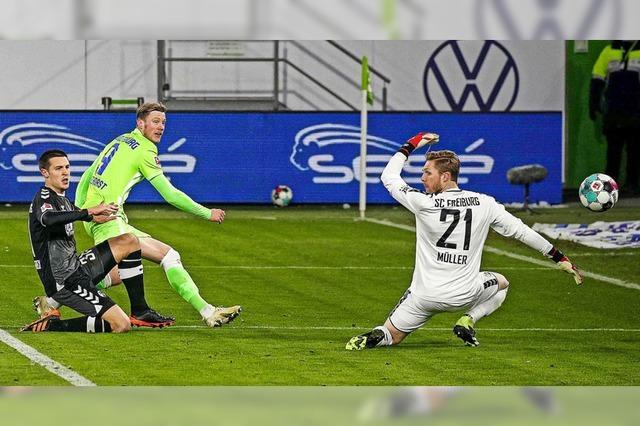 SC Freiburg verliert in Wolfsburg 0:3