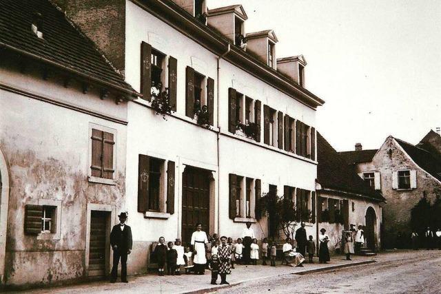 Fast 100 Jahre lang befand sich an der Stadtstraße eine Glaserei
