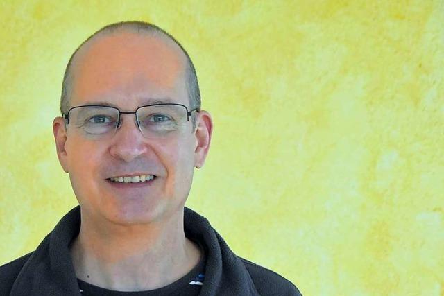 Martin Volkmann ist in Rheinfelden bei Jugendrotkreuz, BUND und Stadtgärtle aktiv