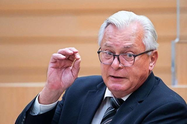 Südwest-AfD kürt Bernd Gögel zum Spitzenkandidaten