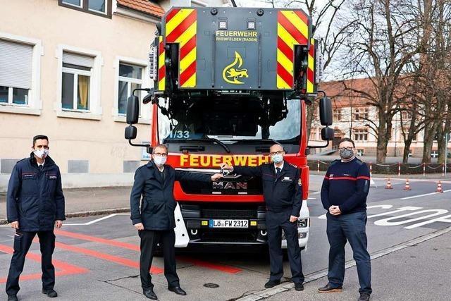 Für die Feuerwehr Rheinfelden war 2020 ein normales Jahr mit Höhepunkten