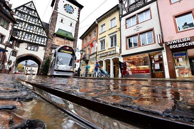 Die Freiburger Salzstraße wird ab Mitte April zur Großbaustelle