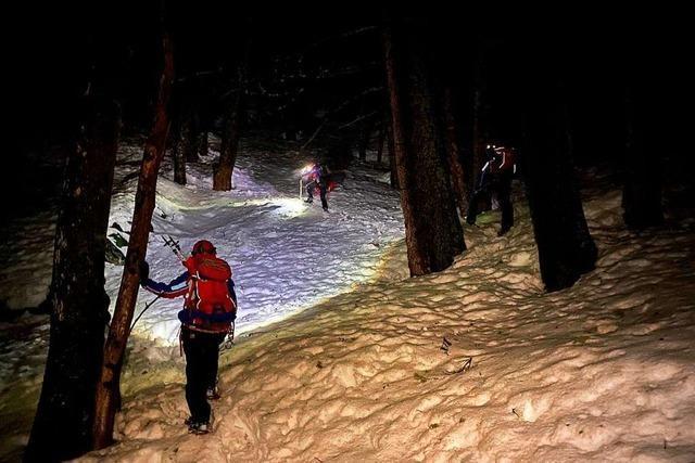 Bergwacht: Sturz in Schneeloch war