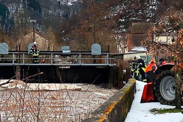 Zeller Feuerwehr rückt zu mehr als 20 Unwetter-Einsätzen aus