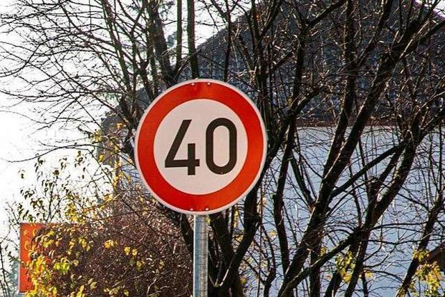Landratsamt genehmigt Tempo 40 in Gundelfingen-Wildtal