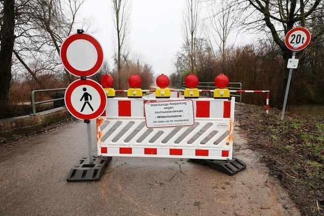 Feuerwehrkommandant aus Schwanau: Hochwasser am Wochenende im Ried war nicht übermäßig schwer