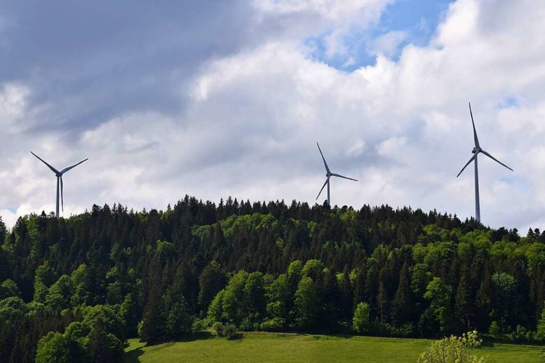 Der Windpark Hasel am Glaserkopf  | Foto: Stefan Ammann