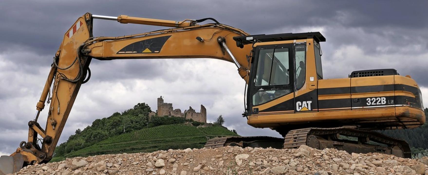 Zum Bauen im Gaisgraben in Staufen gil...ge bürokratische Hürden zu überwinden.  | Foto: Hans-Peter Müller