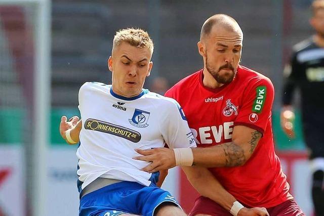 Der SC Freiburg holt für die U 23 Angreifer Johannes Manske
