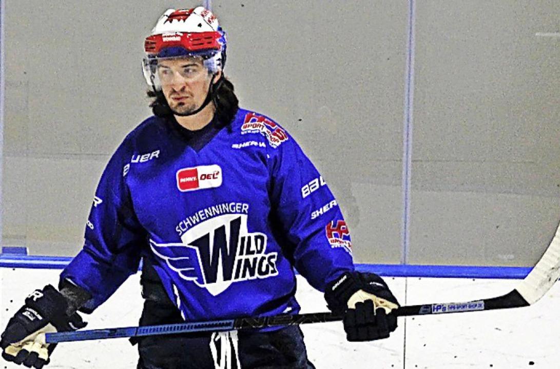 Daniel Weiß spielt jetzt gemeinsam mit...uder Alexander im Team der Wild Wings.  | Foto: Wittmann
