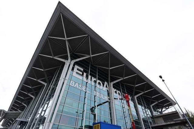 Der Bahnanschluss an den Euroairport bleibt gesetzt
