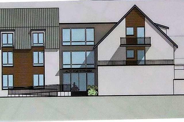 Ein privater Investor plant in Müllheim ein integratives Wohnprojekt