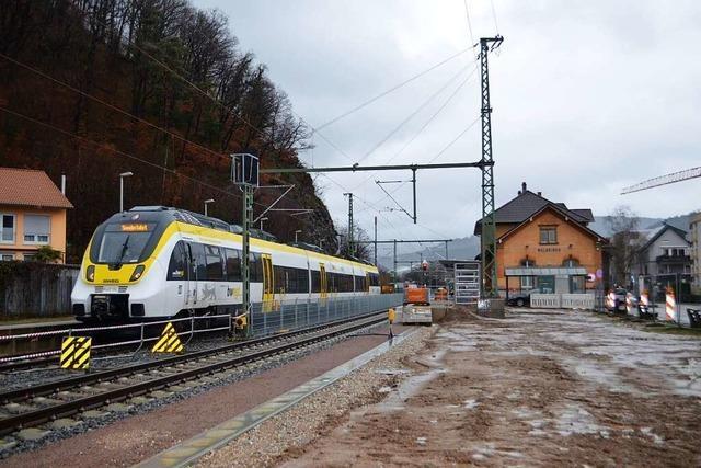 Elztalbahn soll ab Mitte Februar von Freiburg nach Waldkirch fahren