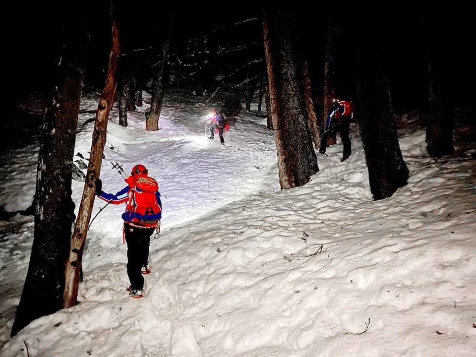 Der Einsatz der Bergwacht  im Feldseekessel dauerte sechs Stunden.   | Foto: Bergwacht Schwarzwald
