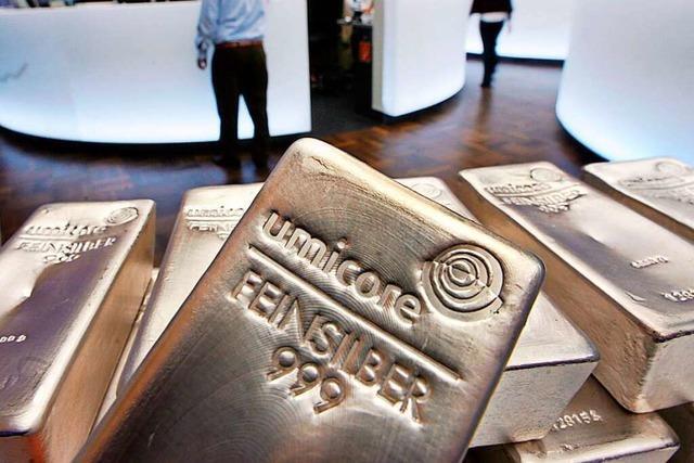 Silberpreis schießt in die Höhe