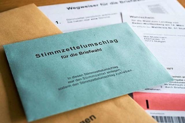 Weil am Rhein richtet für die Landtagswahl doppelt so viele Briefwahlbezirke ein