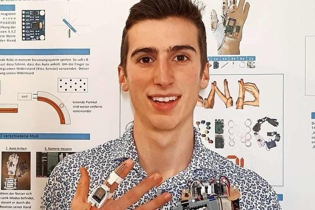 Die Zukunft in die Hand nehmen – ein Jugend forscht-Teilnehmer erzählt
