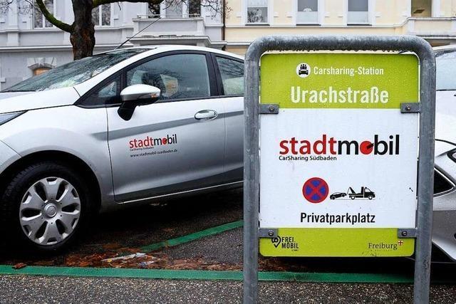 Carsharing-Anbieter will seine Wagen nicht bei Freiburger Anti-Corona-Autokorsos