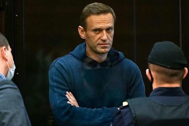 Strafvollzug fordert dreieinhalb Jahre Haft gegen Kremlgegner Nawalny