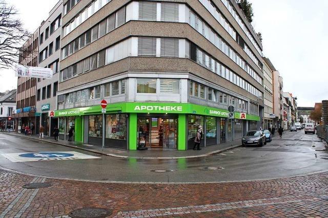 Die Fußgängerzone in Lörrach wird erweitert